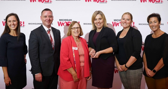 Local Talent Development Leader Jennifer Klempnow Honored by Michigan Works! Association