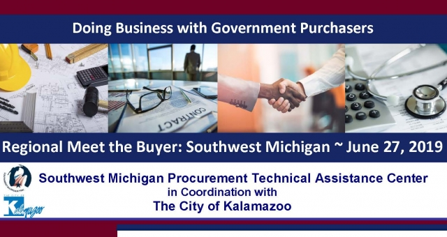 Meet One-on-One with Federal, State and Local Government Purchasers Contracting with the City of Kalamazoo