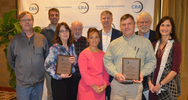 Road Commission of Kalamazoo County honored with two IMPRESS Awards at CRA's 2019 Highway Conference
